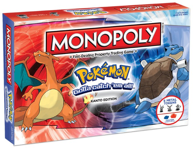 Pokemon - Kanto Edition Monopoly