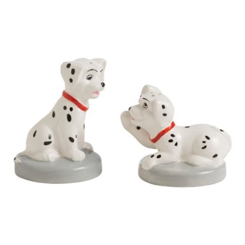 101 Dalmatians Puppies Sculpted Salt and Pepper Shaker Set