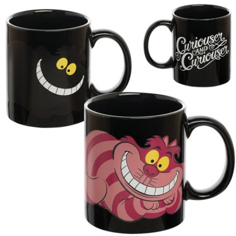 Cheshire Cat Heat Reactive Mug