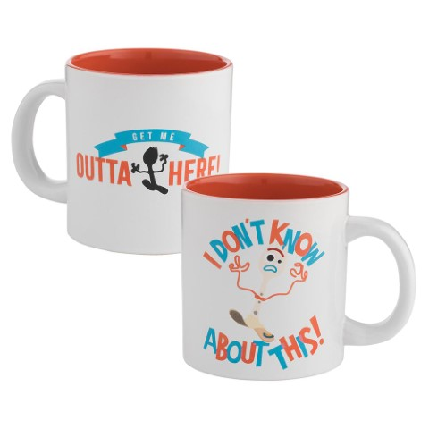 Forky Outta Here 591ml Ceramic Mug