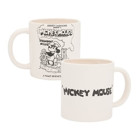 Mickey Mouse Steamboat Willie 590ml Bas Relief Ceramic Mug