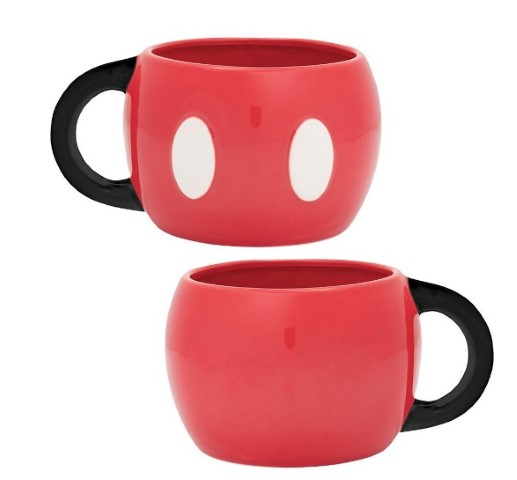 Mickey Mouse 590ml Sculpted Ceramic Mug