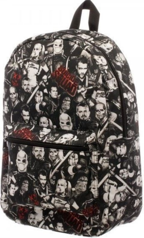 Suicide Squad Sublimated Character Backpack