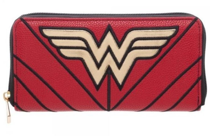 Wonder Woman Zip Wallet