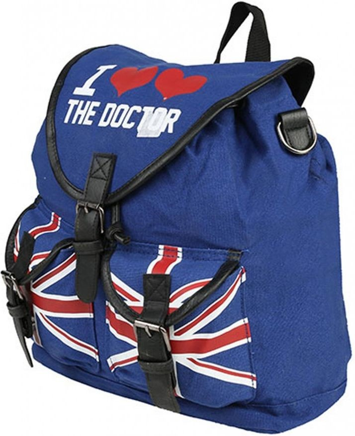 Doctor Who - Dr Who I Heart the Dr Knapsack
