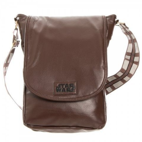 Star Wars Chewy Brown Mini Messenger Bag