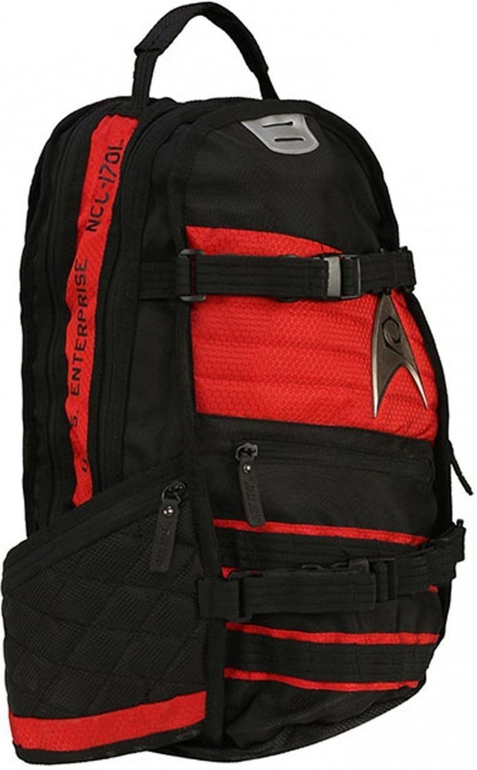 Star Trek Red Built Back Pack