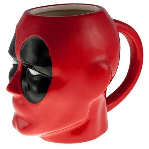 Deadpool Coffee Mug 3D Moulded