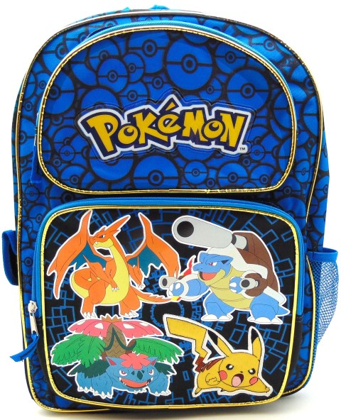Pokemon Backpack Blue 16