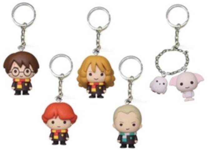 Harry Potter Keyring Figures Blind Bag