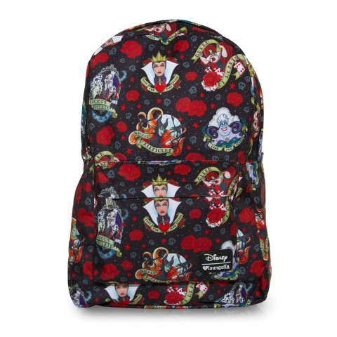 Disney Villains Tattoo AOP Backpack