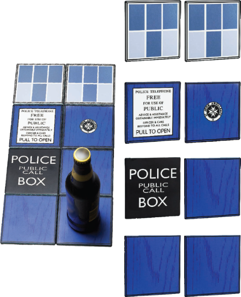 Doctor Who - Tardis Ceramic Coasters Gift Set