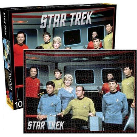 Star Trek Cast 1000pc Puzzle