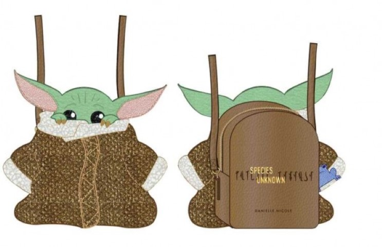 PREORDER  Mandalorian The Child Species Unknown Crossbody