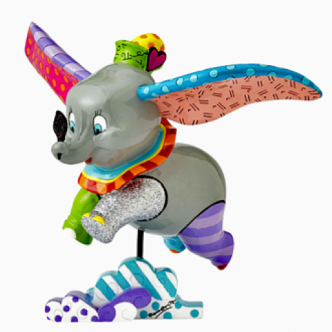 Dumbo Flying - Large Figurine