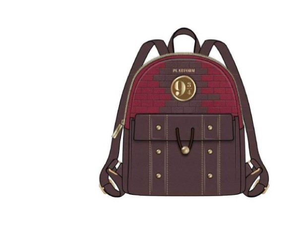 PREORDER  Harry Potter 9 3/4 Platform Sm Backpack