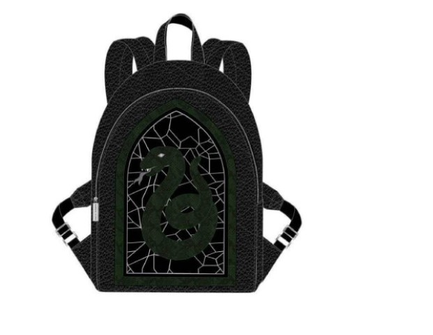 PREORDER  Slytherin Stained Glass Window Backpack