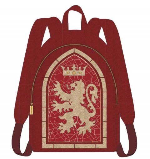 PREORDER  Gryffindor Stained Glass Window Backpack