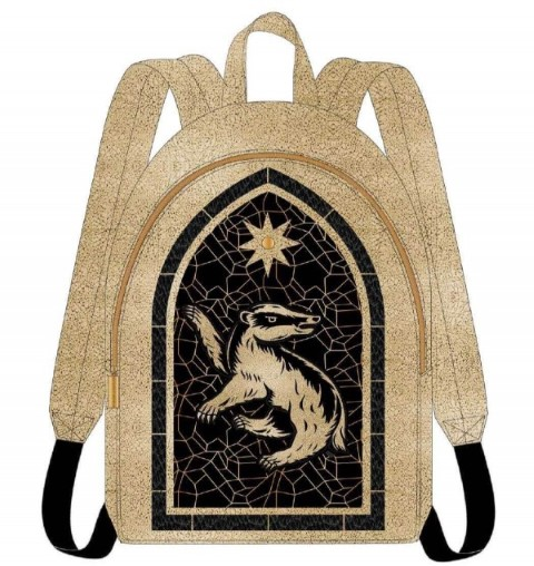 PREORDER  Hufflepuff Stained Glass Window Backpack
