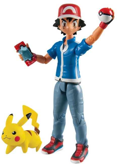 Pokemon Action Figure Ash and Pikachu