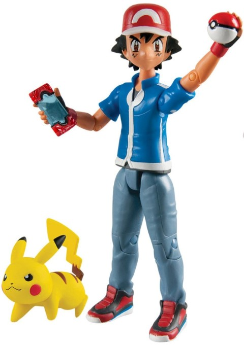 Pokemon Action Figure Ash & Pikachu