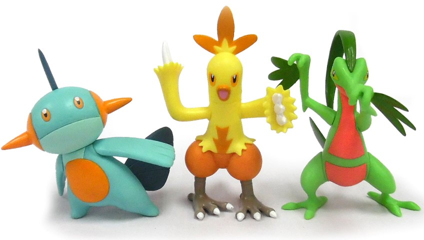 Pokemon Action Pose Figures 3 Pack