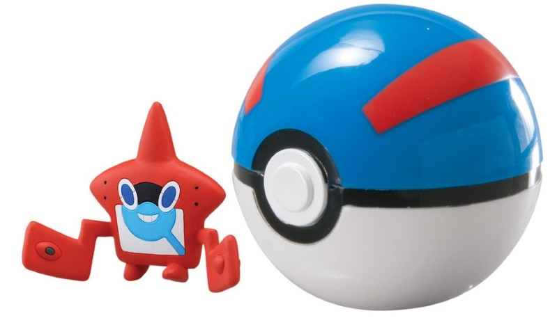 Pokemon Clip n Carry Pokeball Rotom Pokedex & Great Ball