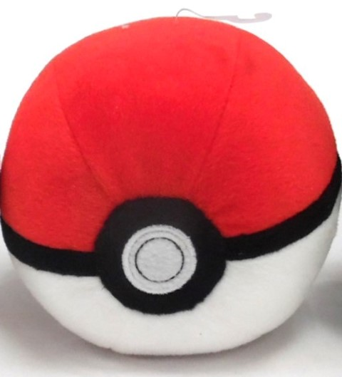 Pokemon Pokeball Plush  Poke Ball