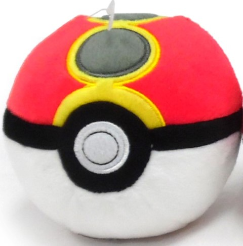 Pokemon Pokeball Plush  Repeat Ball
