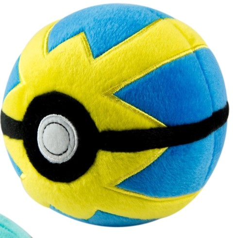 Pokemon Pokeball Plush Quick Ball