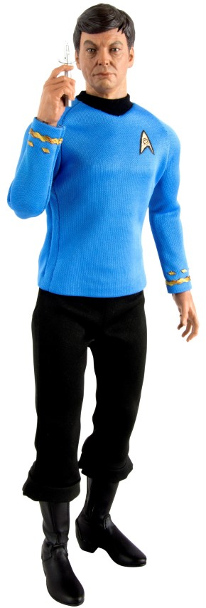 Star Trek Dr Leonard - Bones - McCoy 1:6 Scale Figure